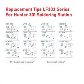 Replacement Soldering Tips – LF303 Series