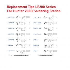 Replacement Soldering Tips – LF 200 Series
