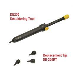 Conductive De-soldering Tools (DE-250) & Replacement Tip (DE-250RT)